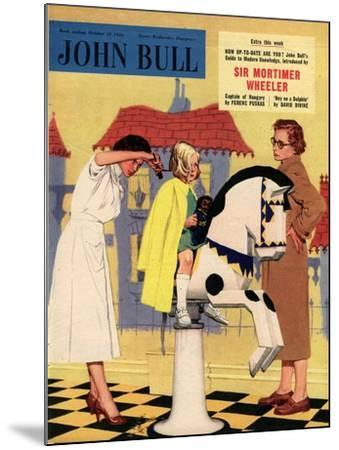Front Cover of 'John Bull', October 1955--Mounted Giclee Print