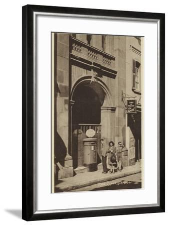 Post Office, Gibraltar--Framed Photographic Print