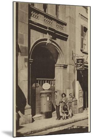 Post Office, Gibraltar--Mounted Photographic Print