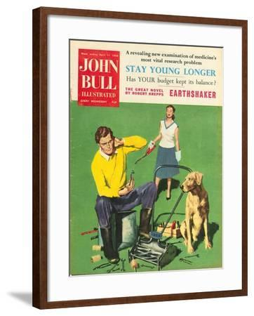 Front Cover of 'John Bull', February 1959--Framed Giclee Print
