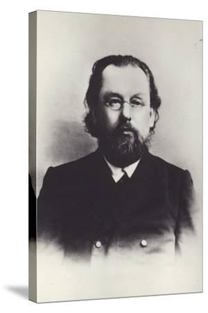 Konstantin Tsiolkovsky, Russian Space Scientist--Stretched Canvas Print