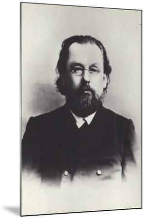 Konstantin Tsiolkovsky, Russian Space Scientist--Mounted Photographic Print