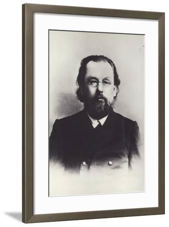 Konstantin Tsiolkovsky, Russian Space Scientist--Framed Photographic Print