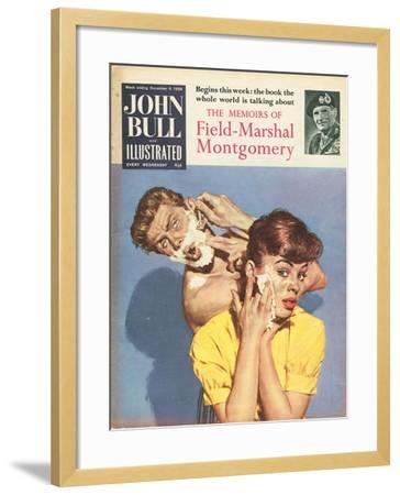 Front Cover of 'John Bull', December 1958--Framed Giclee Print