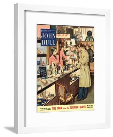 Front Cover of 'John Bull', December 1953--Framed Giclee Print