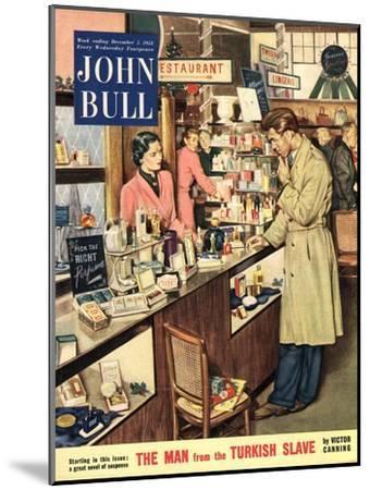 Front Cover of 'John Bull', December 1953--Mounted Giclee Print