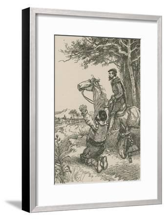 They Descried their Village-Paul Hardy-Framed Giclee Print