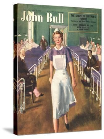 Front Cover of 'John Bull', March 1950--Stretched Canvas Print
