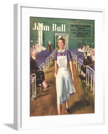 Front Cover of 'John Bull', March 1950--Framed Giclee Print
