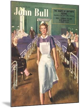 Front Cover of 'John Bull', March 1950--Mounted Giclee Print