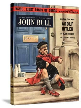 Front Cover of 'John Bull', November 1952--Stretched Canvas Print