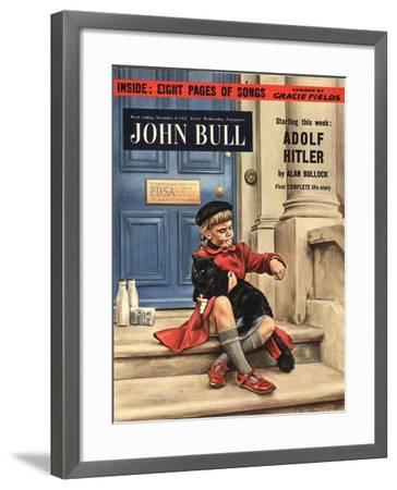 Front Cover of 'John Bull', November 1952--Framed Giclee Print