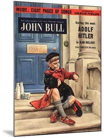 Front Cover of 'John Bull', November 1952--Mounted Giclee Print