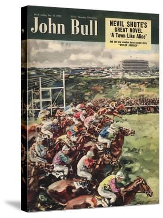 Front Cover of 'John Bull', May 1950--Stretched Canvas Print