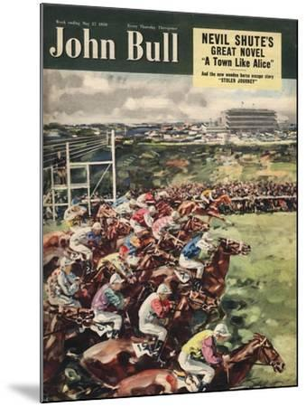 Front Cover of 'John Bull', May 1950--Mounted Giclee Print