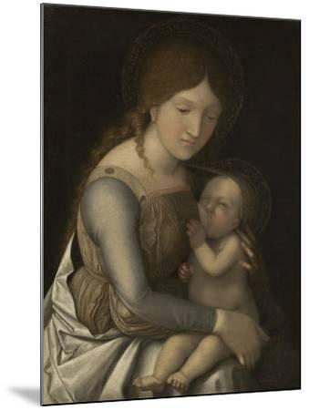 Madonna and Child, C.1505-1510-Andrea Mantegna-Mounted Giclee Print