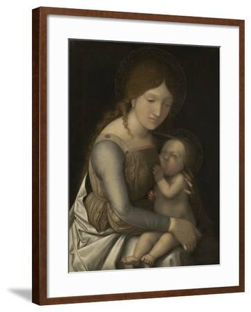 Madonna and Child, C.1505-1510-Andrea Mantegna-Framed Giclee Print
