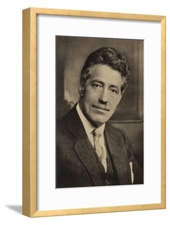 Portrait of Fritz Kreisler--Framed Photographic Print