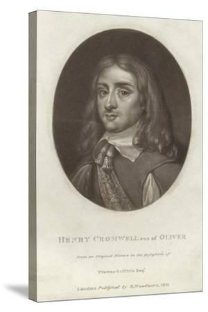 Henry Cromwell--Stretched Canvas Print