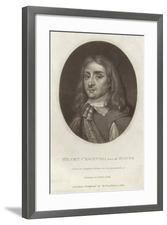 Henry Cromwell--Framed Giclee Print