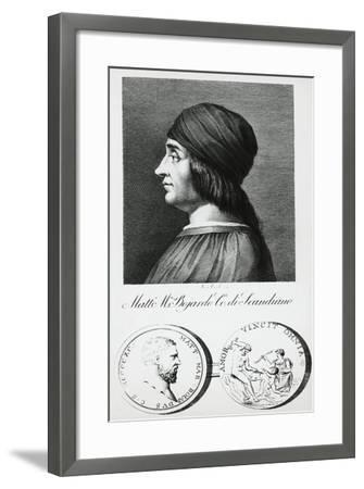 Portrait of Matteo Maria Boiardo--Framed Giclee Print
