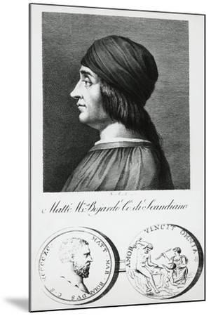 Portrait of Matteo Maria Boiardo--Mounted Giclee Print