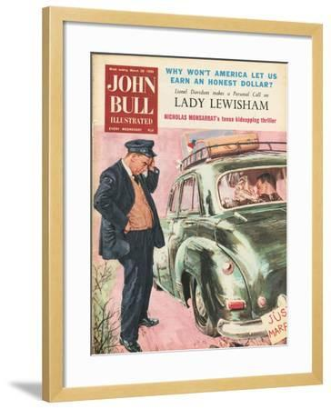 Front Cover of 'John Bull', March 1959--Framed Giclee Print