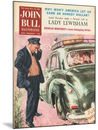 Front Cover of 'John Bull', March 1959--Mounted Giclee Print