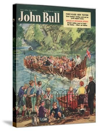 Front Cover of 'John Bull', June 1951--Stretched Canvas Print