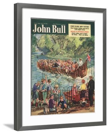 Front Cover of 'John Bull', June 1951--Framed Giclee Print