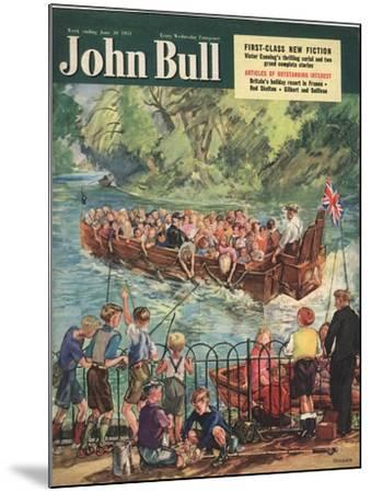 Front Cover of 'John Bull', June 1951--Mounted Giclee Print