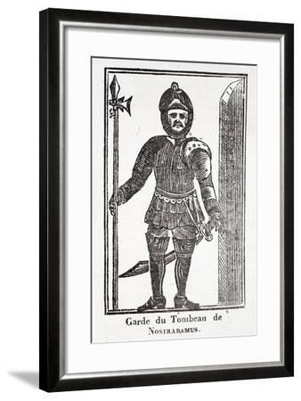 Guard at the Tomb of Nostradamus--Framed Giclee Print