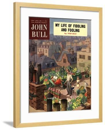 Front Cover of 'John Bull', June 1952--Framed Giclee Print