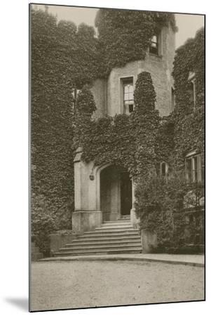 Head-Master's House, Rugby--Mounted Photographic Print