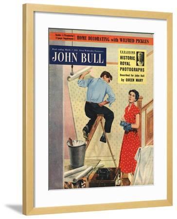 Front Cover of 'John Bull', March 1953--Framed Giclee Print