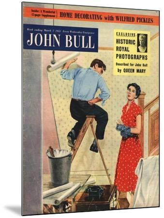 Front Cover of 'John Bull', March 1953--Mounted Giclee Print