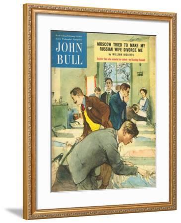 Front Cover of 'John Bull', February 1952--Framed Giclee Print