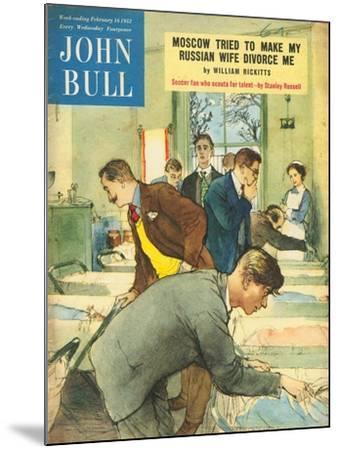 Front Cover of 'John Bull', February 1952--Mounted Giclee Print
