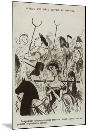 Suffragettes--Mounted Giclee Print