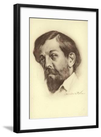 Claude Debussy, French Composer--Framed Giclee Print