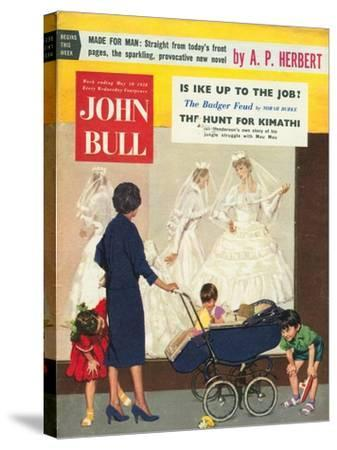 Front Cover of 'John Bull', May 1958--Stretched Canvas Print