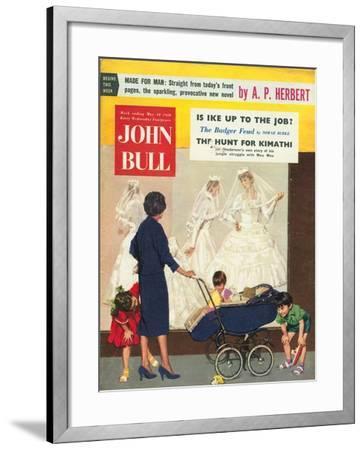 Front Cover of 'John Bull', May 1958--Framed Giclee Print