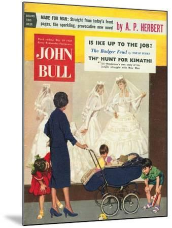 Front Cover of 'John Bull', May 1958--Mounted Giclee Print