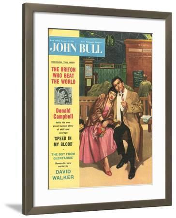 Front Cover of 'John Bull', January 1956--Framed Giclee Print