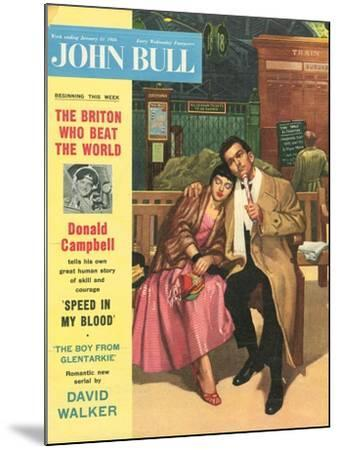 Front Cover of 'John Bull', January 1956--Mounted Giclee Print