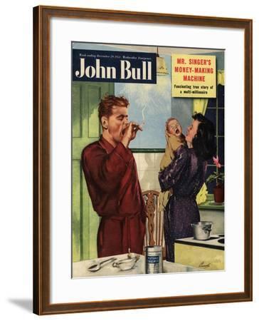 Front Cover of 'John Bull', September 1951--Framed Giclee Print