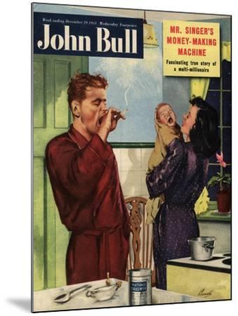 Front Cover of 'John Bull', September 1951--Mounted Giclee Print