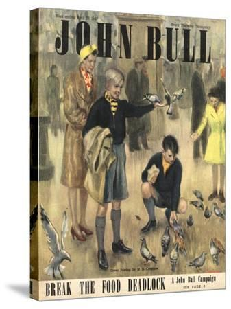 Front Cover of 'John Bull' Magazine, April 1947--Stretched Canvas Print