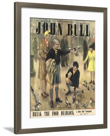 Front Cover of 'John Bull' Magazine, April 1947--Framed Giclee Print