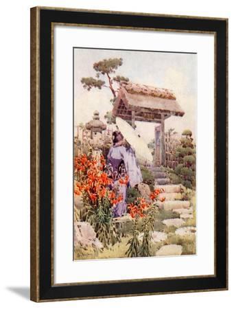 Tiger Lilies-Ella Du Cane-Framed Giclee Print